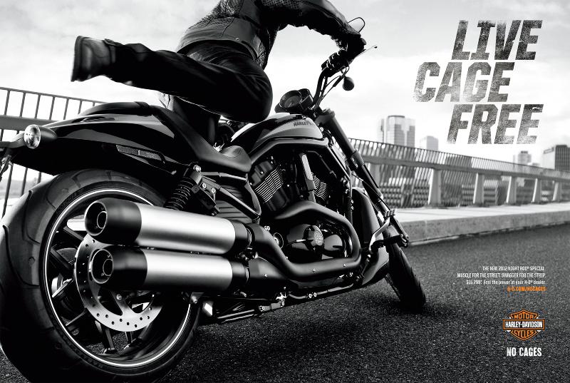 Harley Davidson Tagline