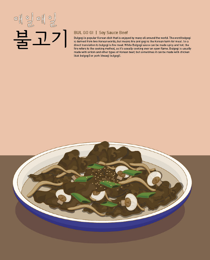 Korean cook book think outside the box this illustration cook book shows every step of cooking so that my friend who is not familiar to cook korean food can fallow the recipe easily forumfinder Gallery